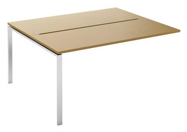 Фото Модуль стартовый стола письменного двухстороннего MN105W1 «Megan» 120 Nowy styl - sofino.ua