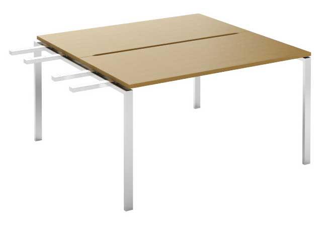 Фото Модуль завершающий стола письменного двухстороннего MN105W3 «Megan» 120 Nowy styl - sofino.ua