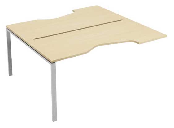 Фото Модуль стартовый стола письменного углового двухстороннего MN207W1 «Megan» 120 Nowy styl - sofino.ua