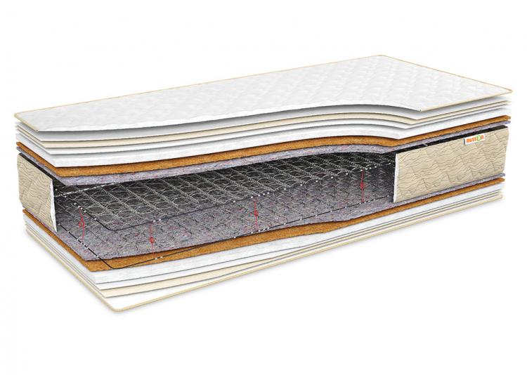 Фото Матрац Еталон Кокос 60x120 см, висота 23 см (жорсткий) Розпродажна позиція - SOFINO.UA
