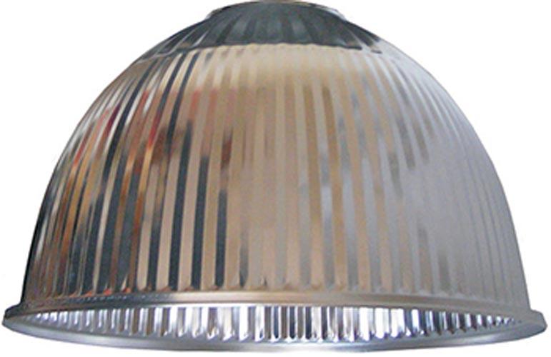 Фото Алюминиевый отражатель refl.485 «l0580002» к светильникам серии 485 2201 2202 2211 рефленый Enext - sofino.ua