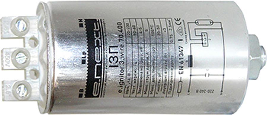 Фото Импульсно-зажигающее устройство e.ignitor.3.wire.600.1000 «l0410002» Enext - sofino.ua