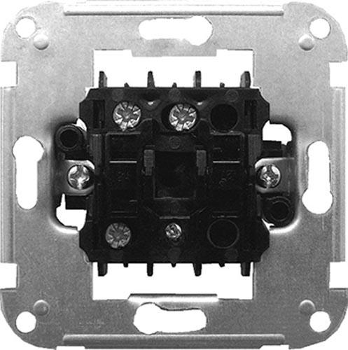 Фото Механизм выключателя одноклавишного e.mz.11272.s2w.l «ins0010012» лестничный с подсветкой Enext - sofino.ua