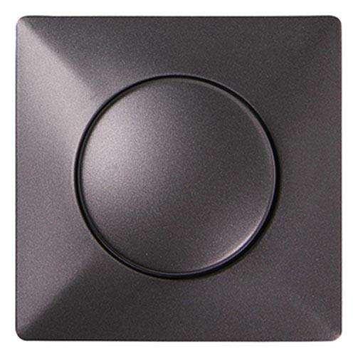 Фото Панель светорегулятора с диском e.lux.13011L.13006C.pn.anthracite «ins0040044» Enext - sofino.ua