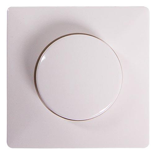 Фото Панель светорегулятора с диском e.lux.13011L.13006C.pn.white «ins0040041» Enext - sofino.ua
