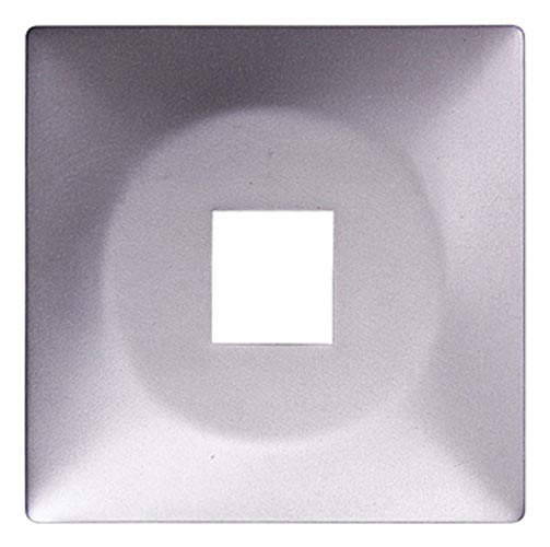 Фото Панель для одинарной розетки e.lux.16111L.pn.aluminium «ins0040100» Enext - sofino.ua