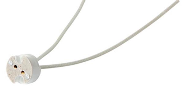 Фото Патрон керамический e.lamp socket.G53.12cm «s9100012» Enext - sofino.ua
