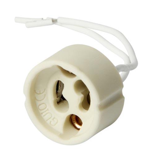 Фото Патрон керамический e.lamp socket.GU10.cer «s9100011» Enext - sofino.ua