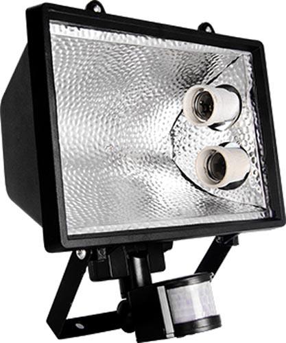 Фото Прожектор с датчиком движения e.save.light.2e27move.1000.black «l0700002» Enext - sofino.ua