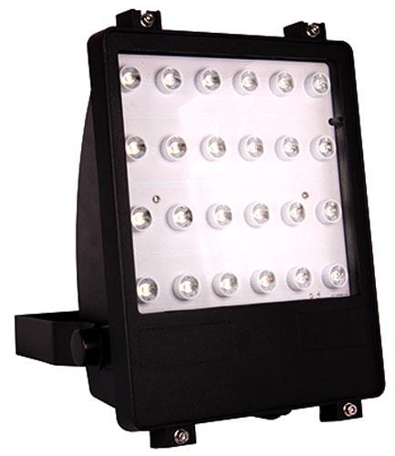 Фото Прожектор светодиодный e.light.LED.102.24.24.2700.black «l0800003» Enext - sofino.ua