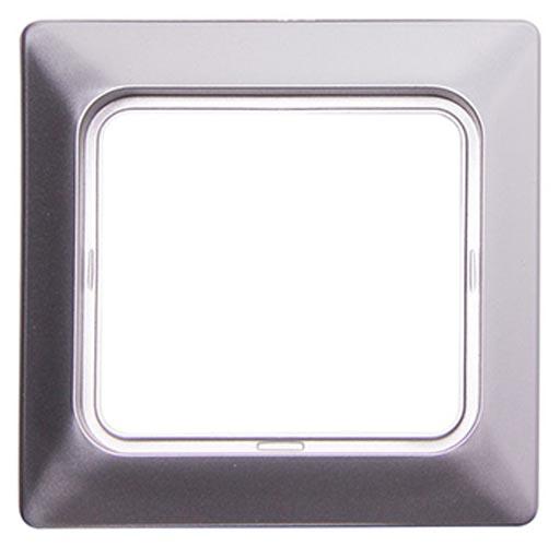Фото Рамка для влагозащищенной розетки e.lux.12094L.1.fr.wp.aluminium «ins0040088» Enext - sofino.ua