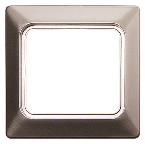 Фото Рамка для влагозащищенной розетки e.lux.12094L.1.fr.wp.nikel «ins0040086» Enext - sofino.ua
