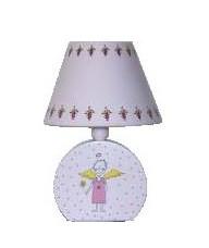 Фото Лампа настольная 41-40032 «Angel» розовая CND - sofino.ua