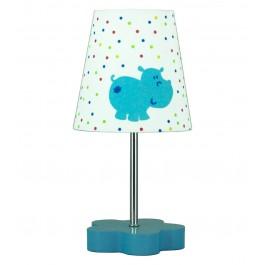 Фото Лампа настольная 41-43736 «Hippo» голубой CND - sofino.ua