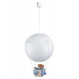 Фото Лампа подвесная 31-99818 «Bear» голубой CND - sofino.ua
