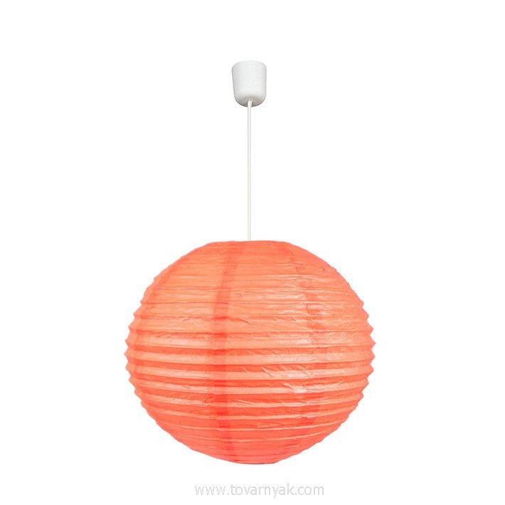 Фото Лампа подвесная 31-22434 «Kokon» 40 бумага/абрикосовый CND - sofino.ua