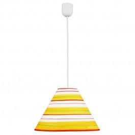 Фото Лампа подвесная 31-80274 «Maja» 40 желто-красный CND - sofino.ua