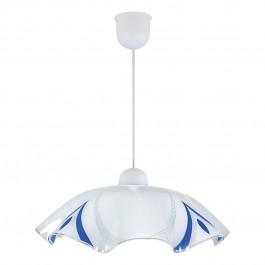 Фото Лампа подвесная 31-79476 «Melisa» 45 голубой CND - sofino.ua