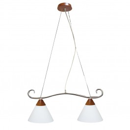 Фото Лампа подвесная 32-27552 «Salem» никель CND - sofino.ua