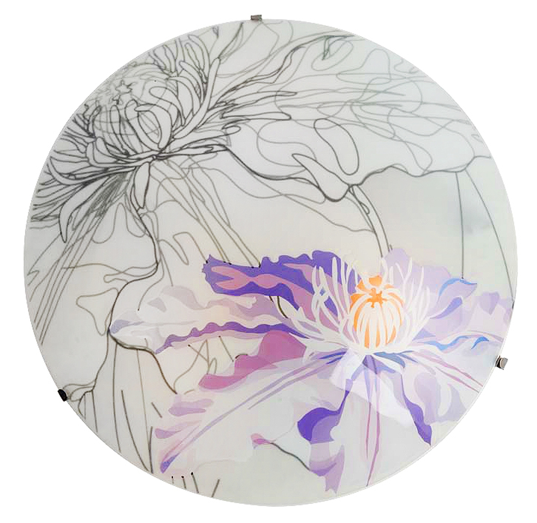 Фото Люстра потолочная 13-12999 «Spring» 30 фиолетовый CND - sofino.ua