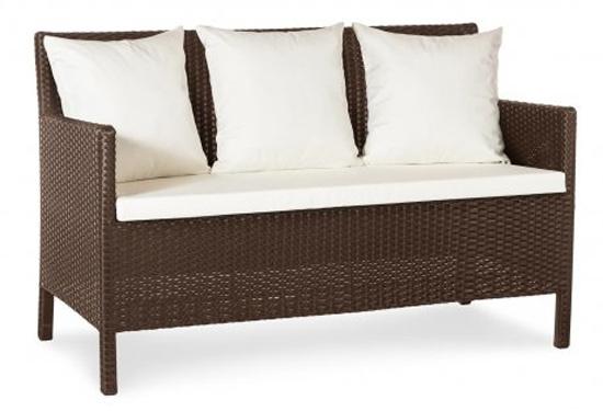 Фото Диван «Кипр» 70*128 с декоративной подушкой Terico - sofino.ua