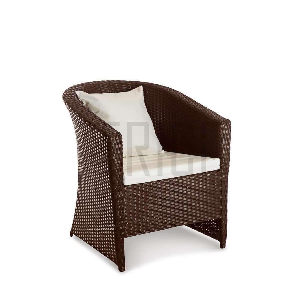 Фото Кресло «Барселона» 75*68 с декоративной подушкой Terico - sofino.ua