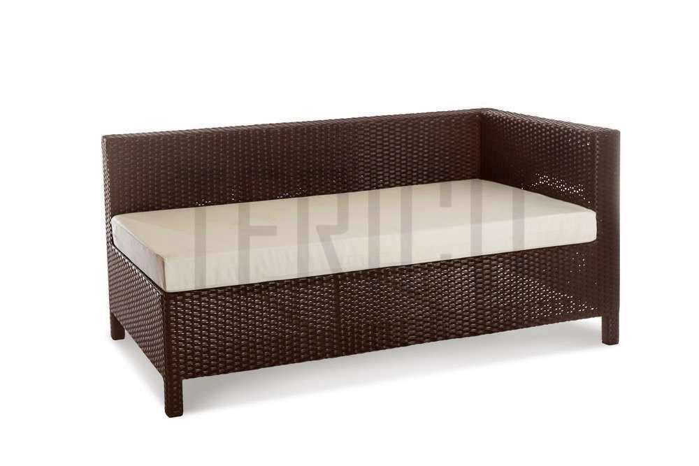 Фото Модуль угловой левый «Египет» 80*150 с подушкой для сидения Terico - sofino.ua