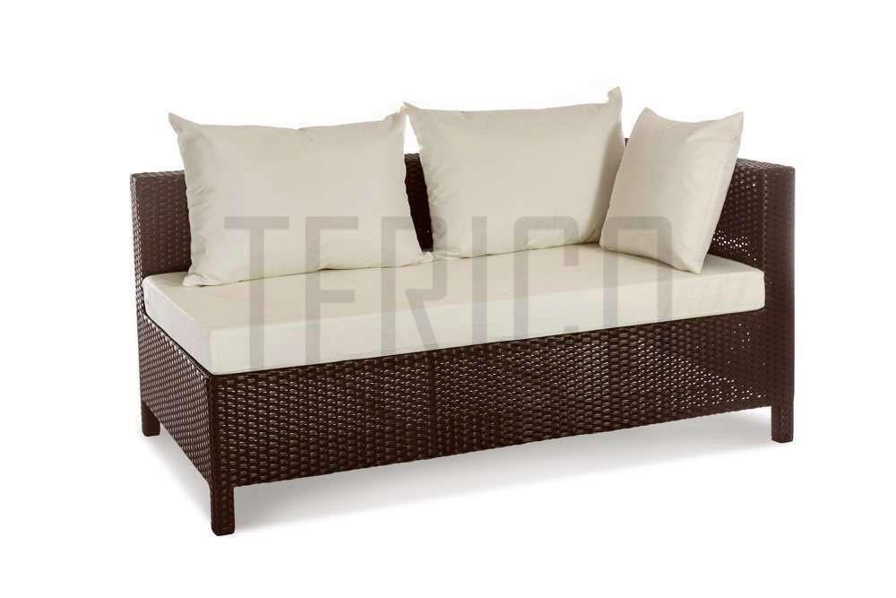 Фото Модуль угловой левый «Египет» 80*150 с подушкой под спину Terico - sofino.ua