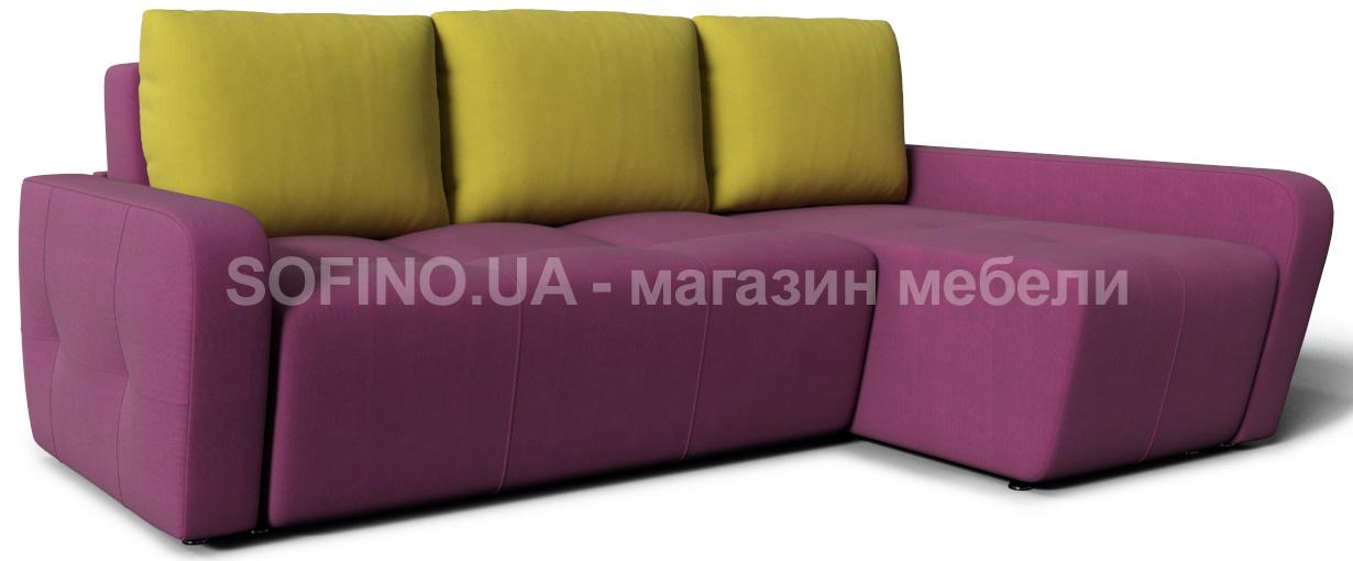 Фото Диван угловой «Мадрид блюз Color» Zenit Color - sofino.ua