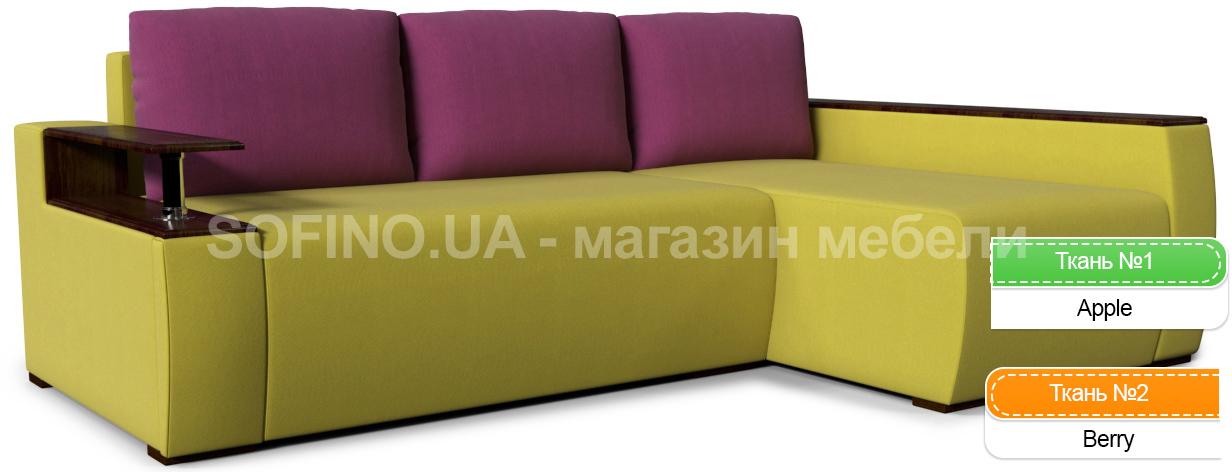 Фото Диван угловой «Сидней блюз Color» Zenit Color - sofino.ua