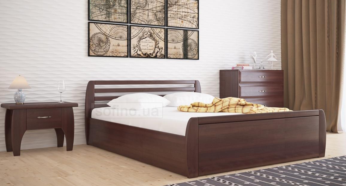 Фото Кровать «Анжелика стандарт» усиленная с механизмом 140*190 Voldi - sofino.ua