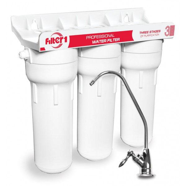 Фото Тройная система очистки воды FMV3F1 «Filter1» Ecosoft - sofino.ua