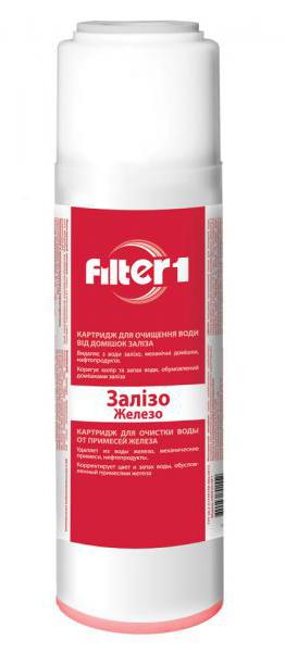 Фото Картридж для удаления железа CRVF2510F1 «Filter1» 2.5*10 Ecosoft - sofino.ua
