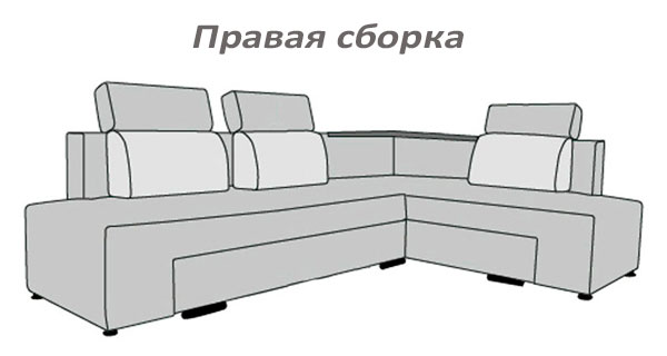Фото Диван угловой «Бридж» Матролюкс - sofino.ua