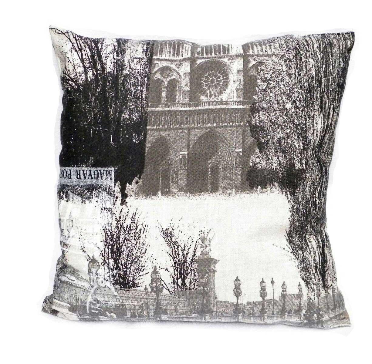 Фото Подушка декор 18700 «Ночной Париж» 40*40 Izzihome - sofino.ua