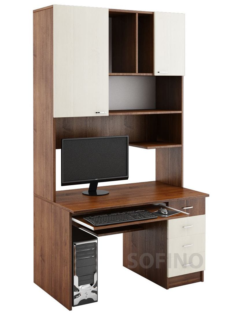 Фото Компьютерный стол «НСК 12» NIKA мебель - sofino.ua
