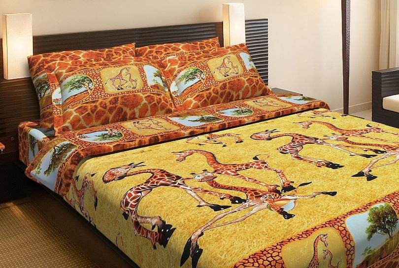Фото Комплект «Жирафы» двуспальный Miratex - sofino.ua