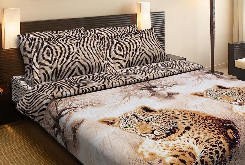 Фото Комплект «Леопарды» двуспальный Miratex - sofino.ua