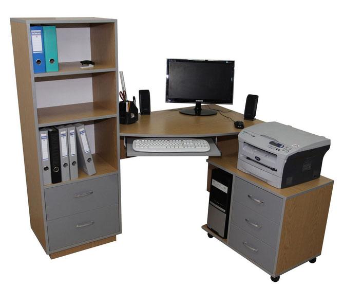 Фото Компьютерный стол «Плутон» NIKA мебель - sofino.ua