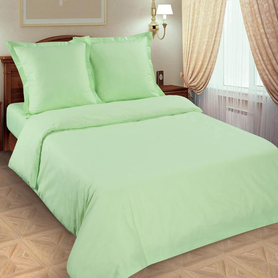Фото Комплект «Салатовый» гладкокрашеный двуспальный Miratex - sofino.ua
