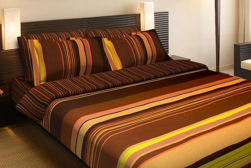 Фото Комплект «Шоколадный соблазн» двуспальный Miratex - sofino.ua