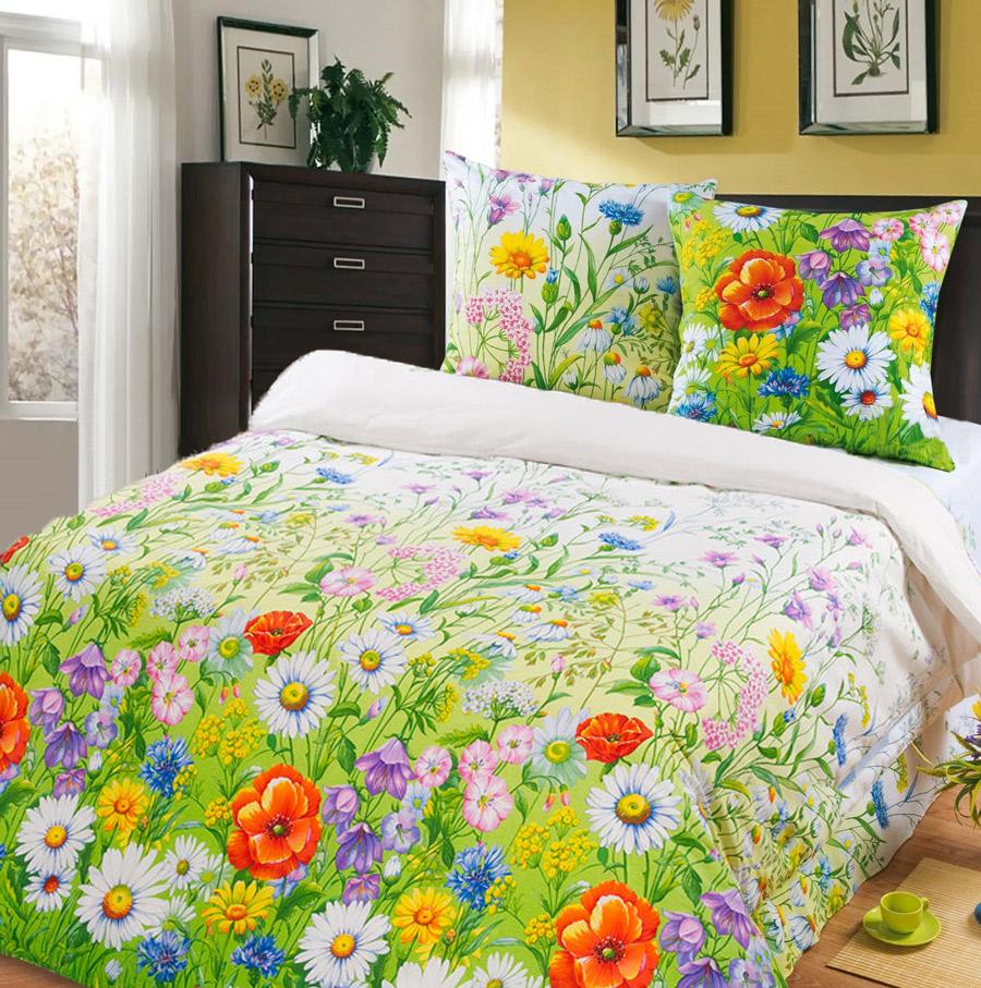 Фото Комплект «Цветочный рай» двуспальный Miratex - sofino.ua