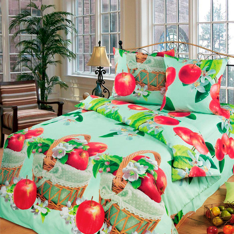 Фото Комплект «Наливные яблочки» двуспальный Miratex - sofino.ua