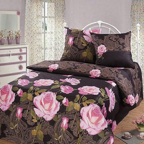Фото Комплект «Ночная роза» евростандарт Miratex - sofino.ua