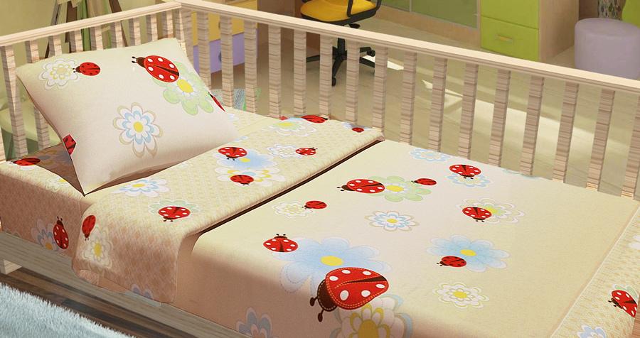 Фото Комплект Baby «Божьи коровки» Miratex - sofino.ua