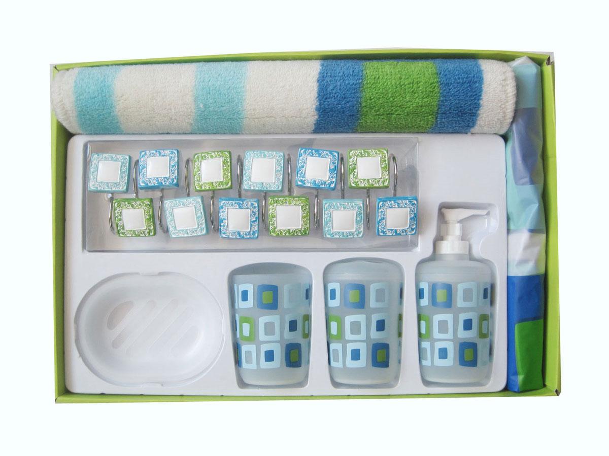 Фото Комплект для ванной 1353047 «Filberta» Arya - sofino.ua