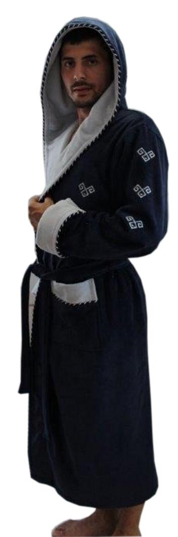 Фото Xалат мужской с капюшоном 14545 «1351268» Arya - sofino.ua
