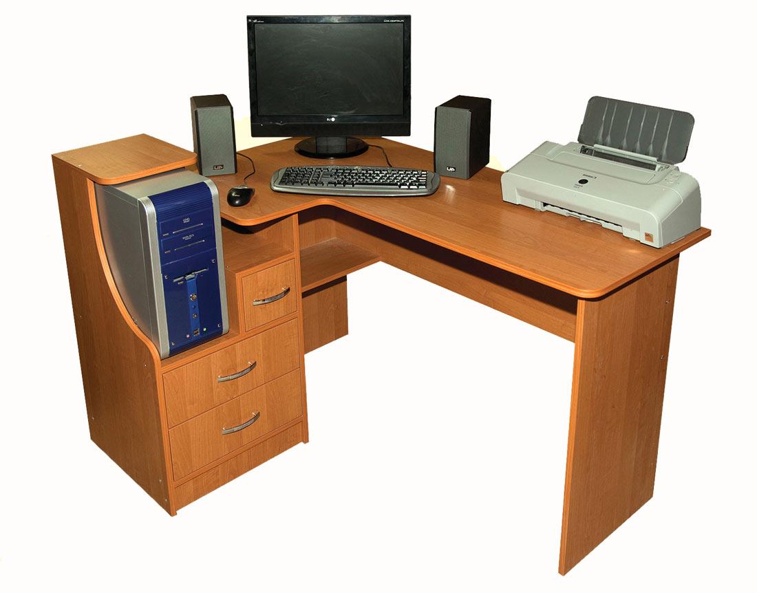 Фото Компьютерный стол «Ника 33» NIKA мебель - sofino.ua