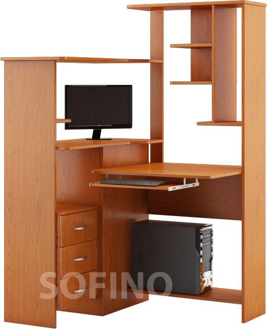 Фото Стол компьютерный «Грейп» | Код товара: 12941 - SOFINO.UA