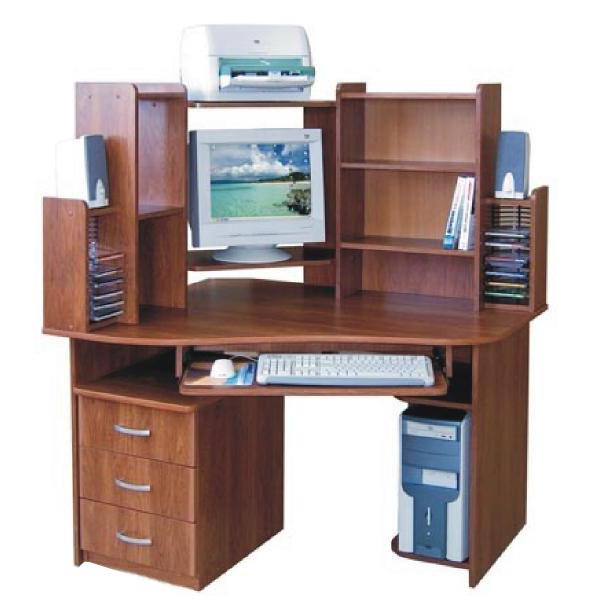 Фото Компьютерный стол «Прометей» NIKA мебель - sofino.ua